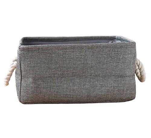 Grau 37 x 32 x 44.5 cm Brabantia Stapelbare 35 Liter Grey W/äschebox Stoff