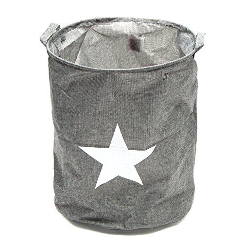 faltbarer w schesack grau star w schebeh lter w schekorb w schetonne 75 liter. Black Bedroom Furniture Sets. Home Design Ideas