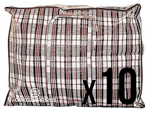 10 st ck xx gro en starke aufbewahrung einkaufstaschen xxl beweglicher taschen mit. Black Bedroom Furniture Sets. Home Design Ideas