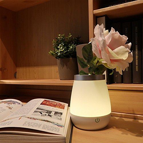 Ohuhu® USB Wiederaufladbare LED Vase Lampe Tischlampe Mit Touch Sensor ,  Kindergarten Nachtlicht Für Schlafzimmer / Kinderzimmer / Wohnzimmer  Dekoration